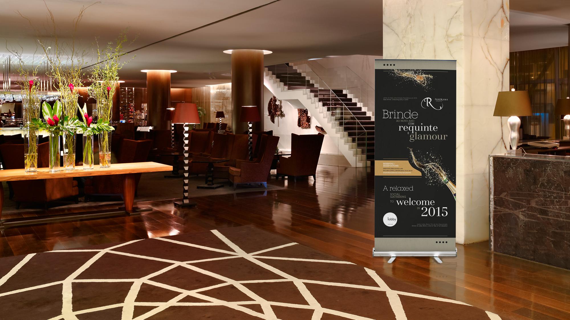 Sheraton Lisboa Hotel & Spa | Materiais de Natal e Ano Novo 2014