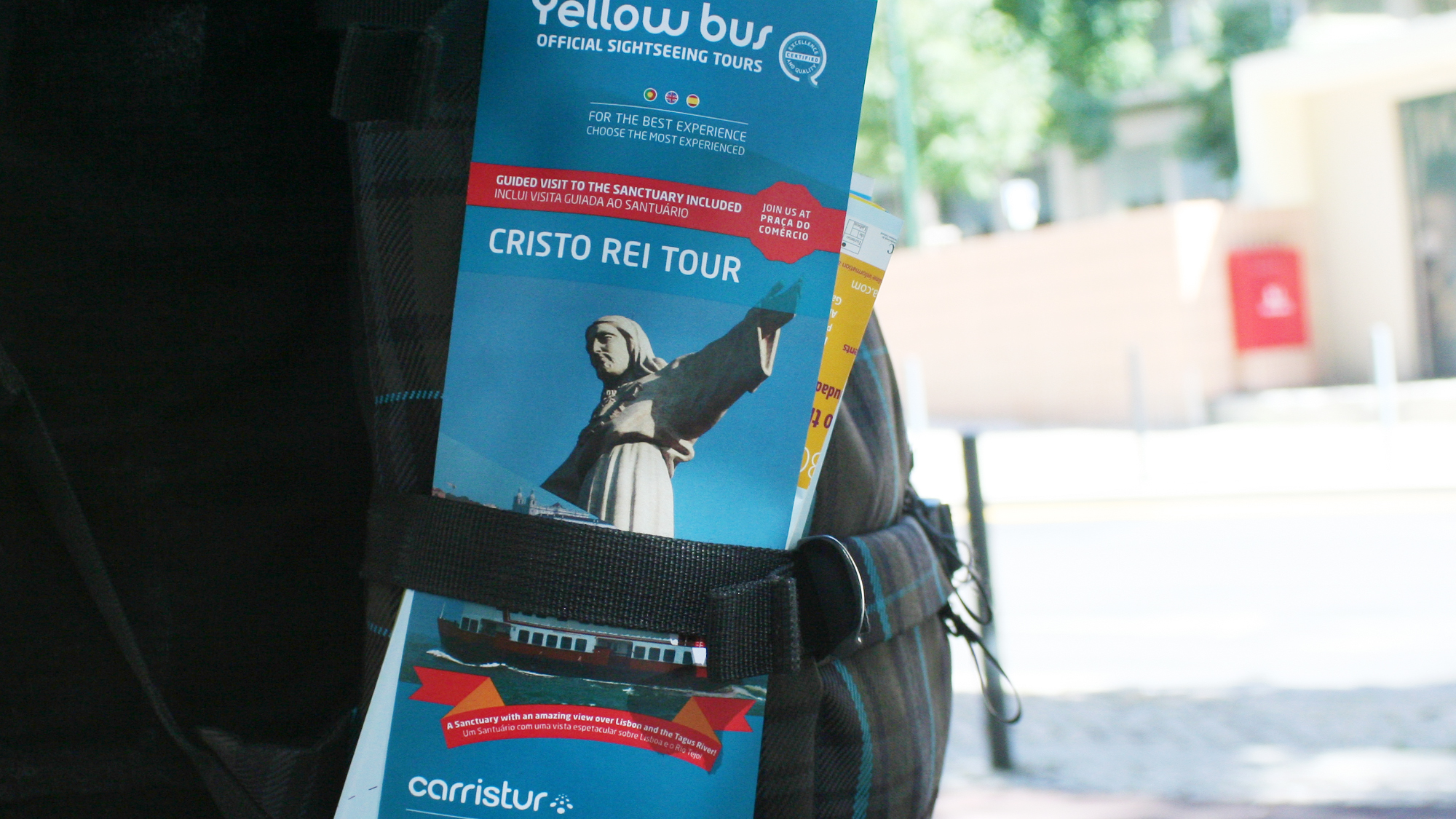 Carristur & Yellow Bus | Folheto Cristo Rei Tour