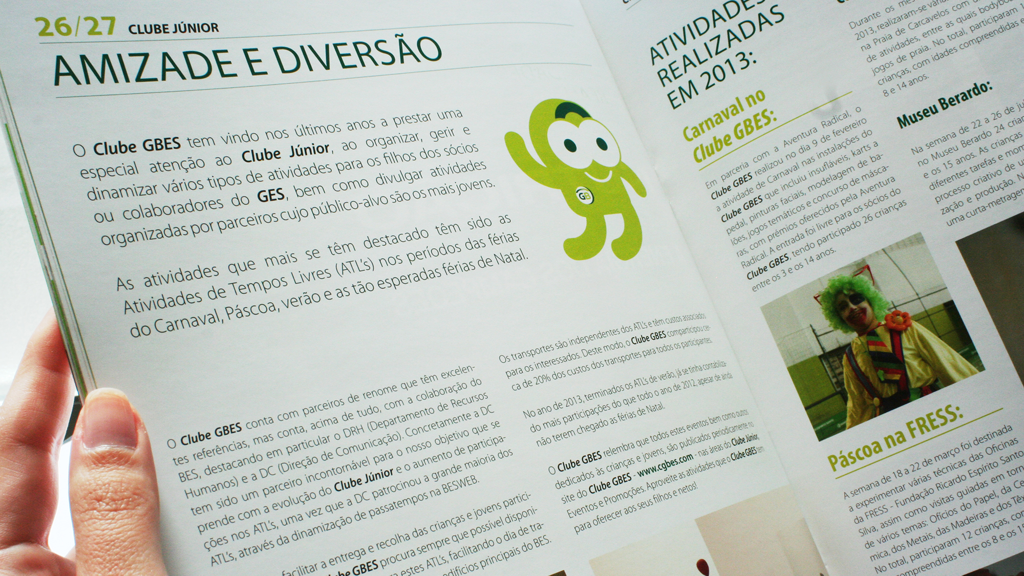 Clube GBES | Revista GO BES