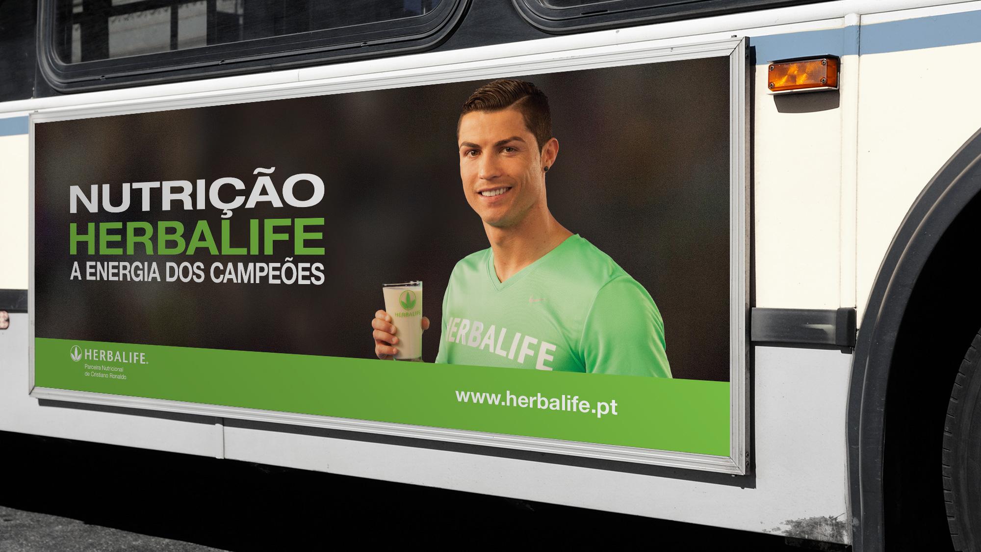 Herbalife | Campanha Cristiano Ronaldo