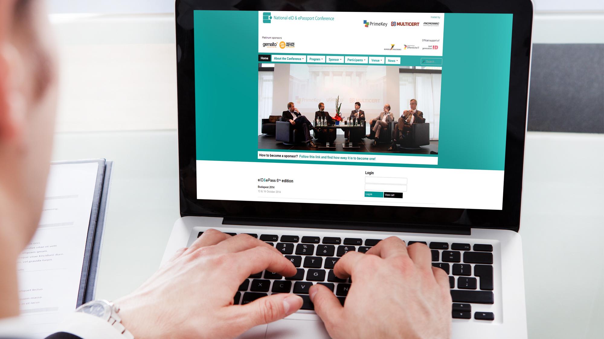 MULTICERT | Organização de Conferência + Website