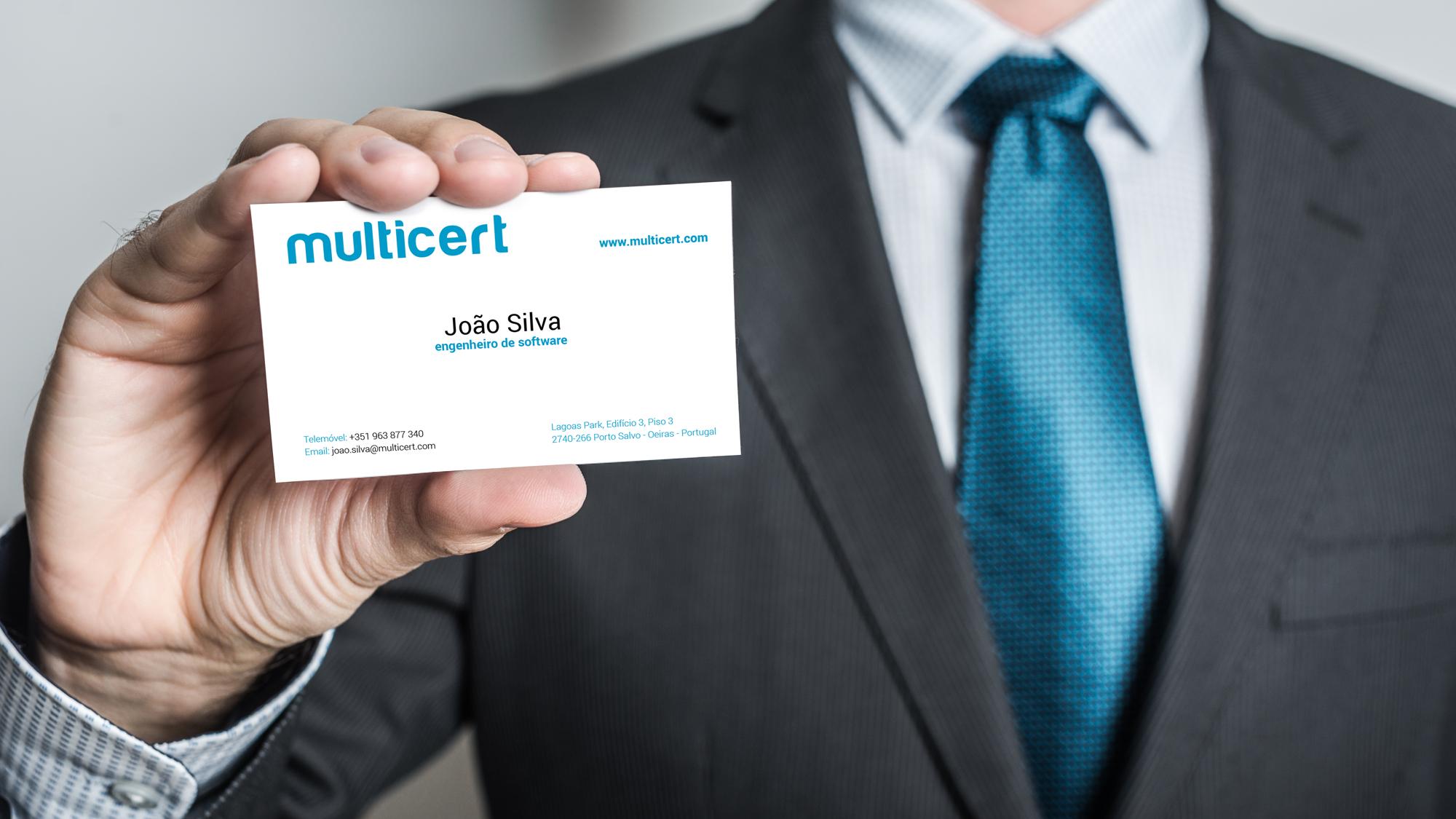 Multicert | Branding e Estacionário