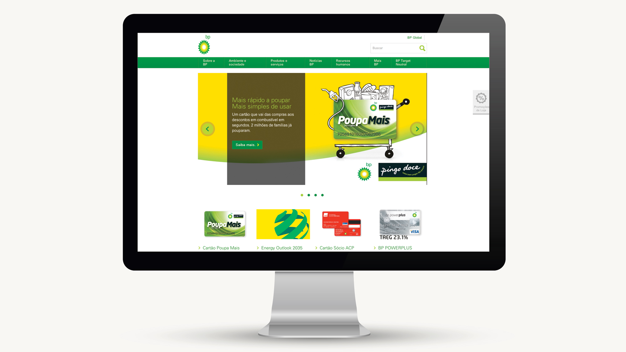 BP Portugal | Website