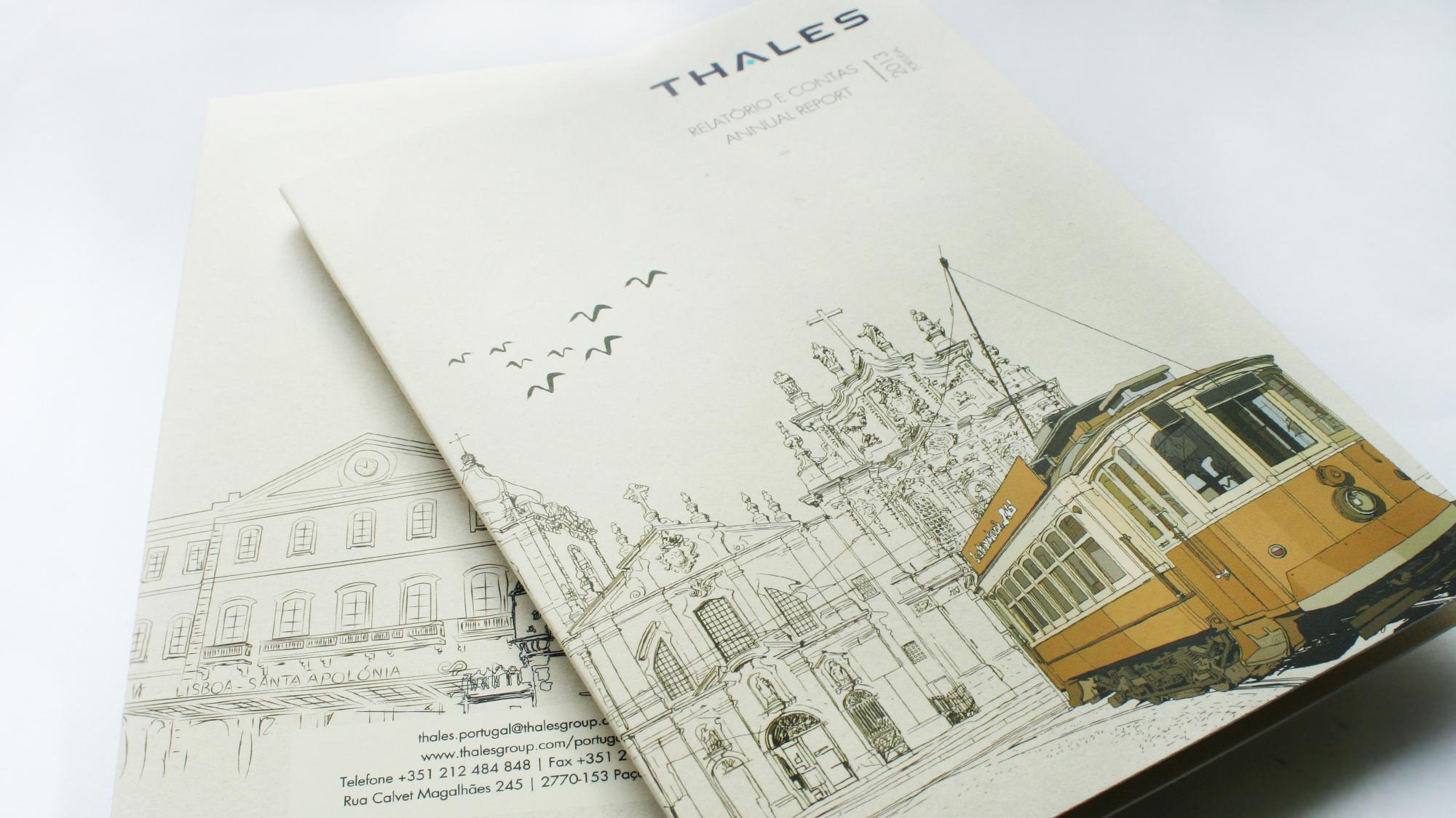Thales Portugal | Relatório & Contas 2013